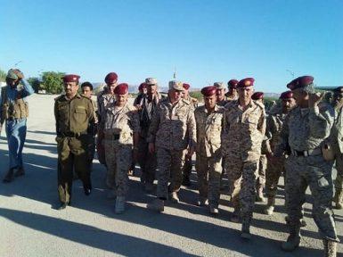 قيادات عسكرية في المنطقة الاولى