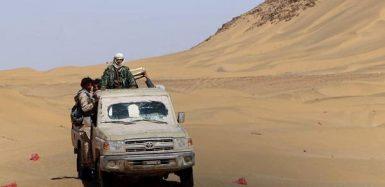 عربة تابعة للجيش الموالي لهادي
