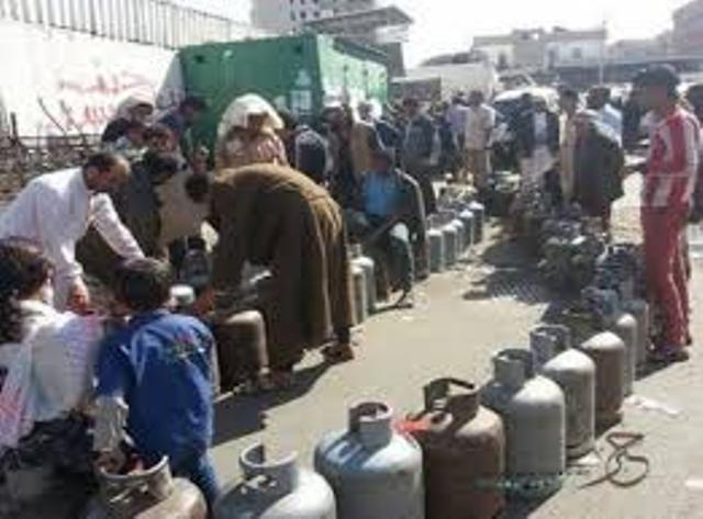 صنعاء.. أزمة جديدة في الغاز المنزلي