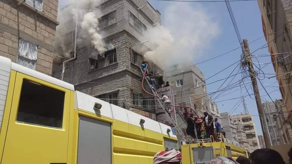 وفاة امرأتين بحريق في محافظة حضرموت