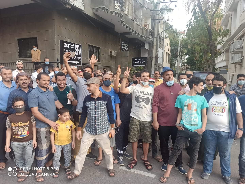 عالقون في الهند يطالبون بإعادتهم إلى اليمن