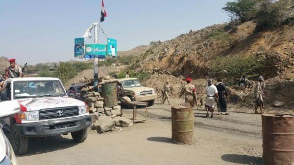 السلطات الأمنية تمنع دخول القات إلى مدينة تعز