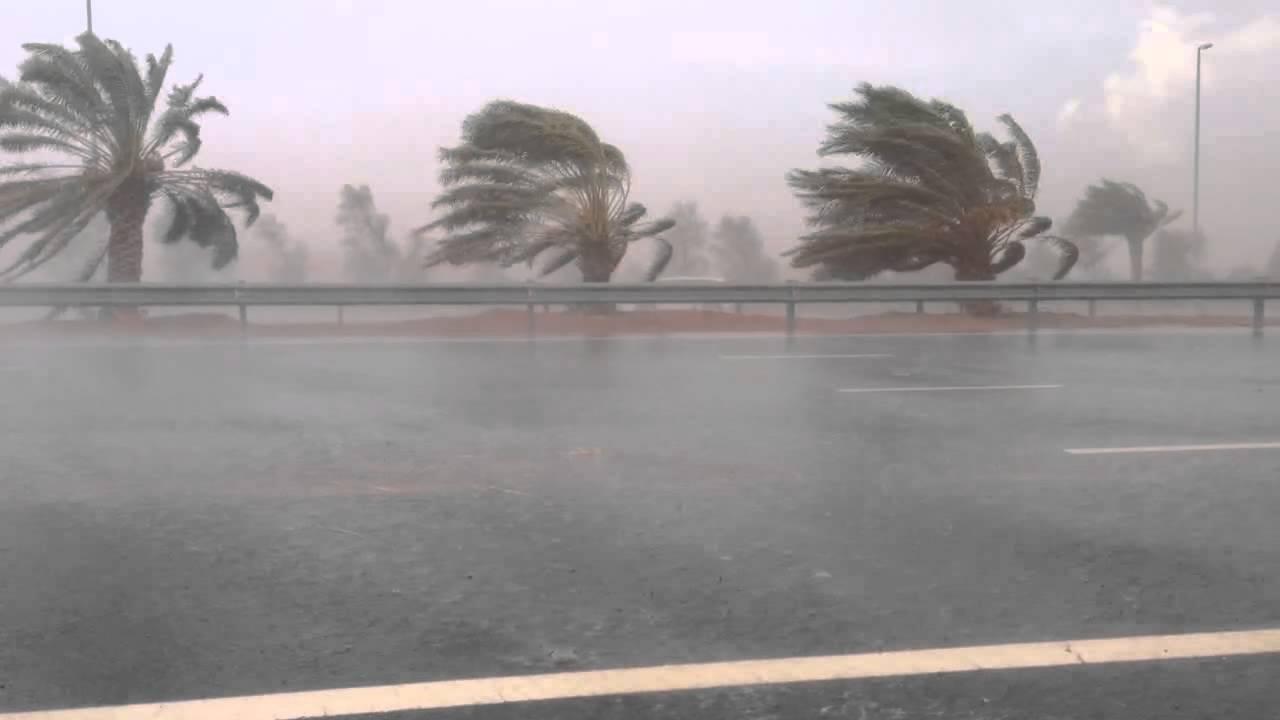 مركز الأرصاد يحذر من أمطار غزيرة مصحوبة برياح شديدة