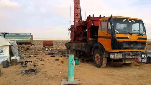 ردم تسعة آبار مائية في محافظة ذمار