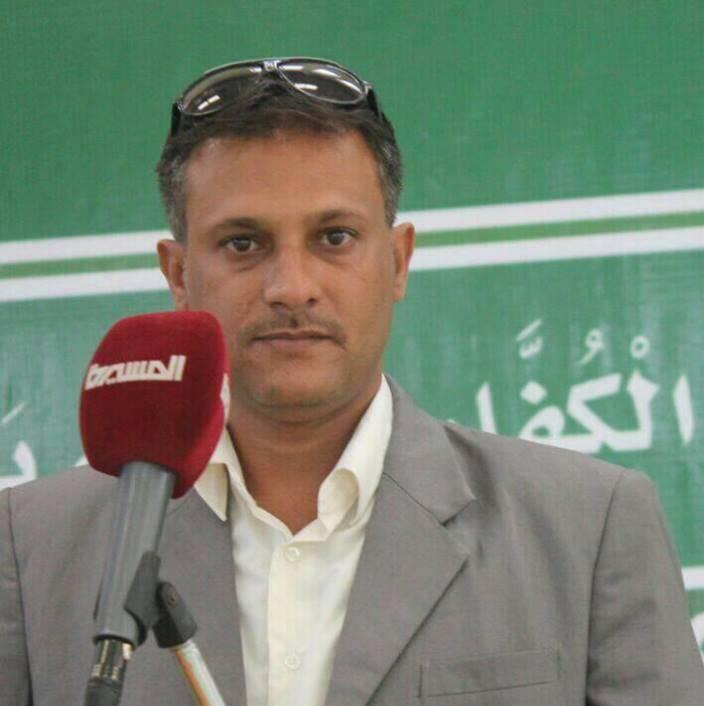 مراسل قناة المسيرة بتعز في سجن جماعة الحوثي
