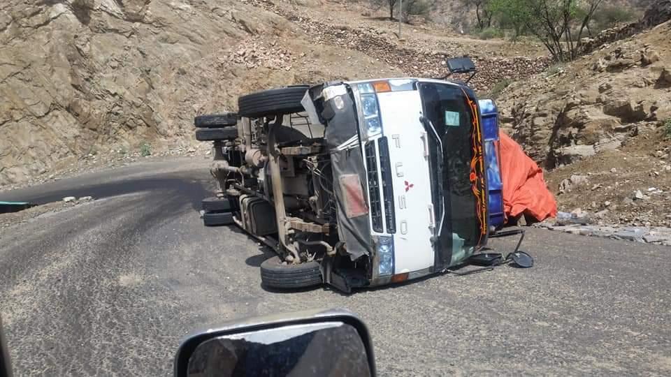 وفاة 3 أشخاص بحادث مروري جنوب لحج