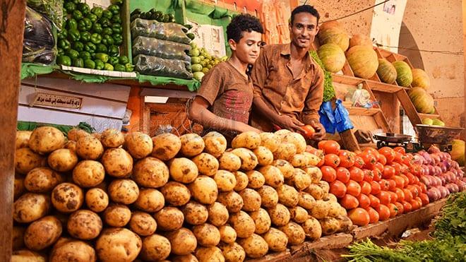 استقرار أسعار الخضروات