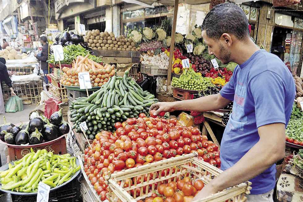 تراجع أسواق الخضروات