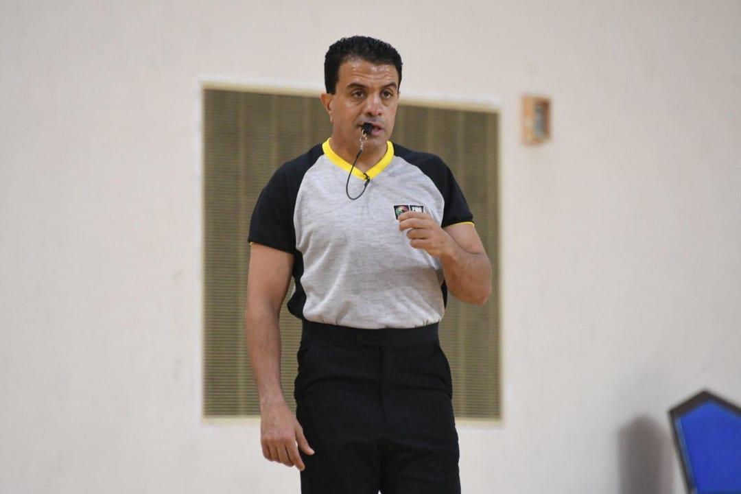 اختيار حكم يمني لإدارة تصفيات آسيا لكرة السلة