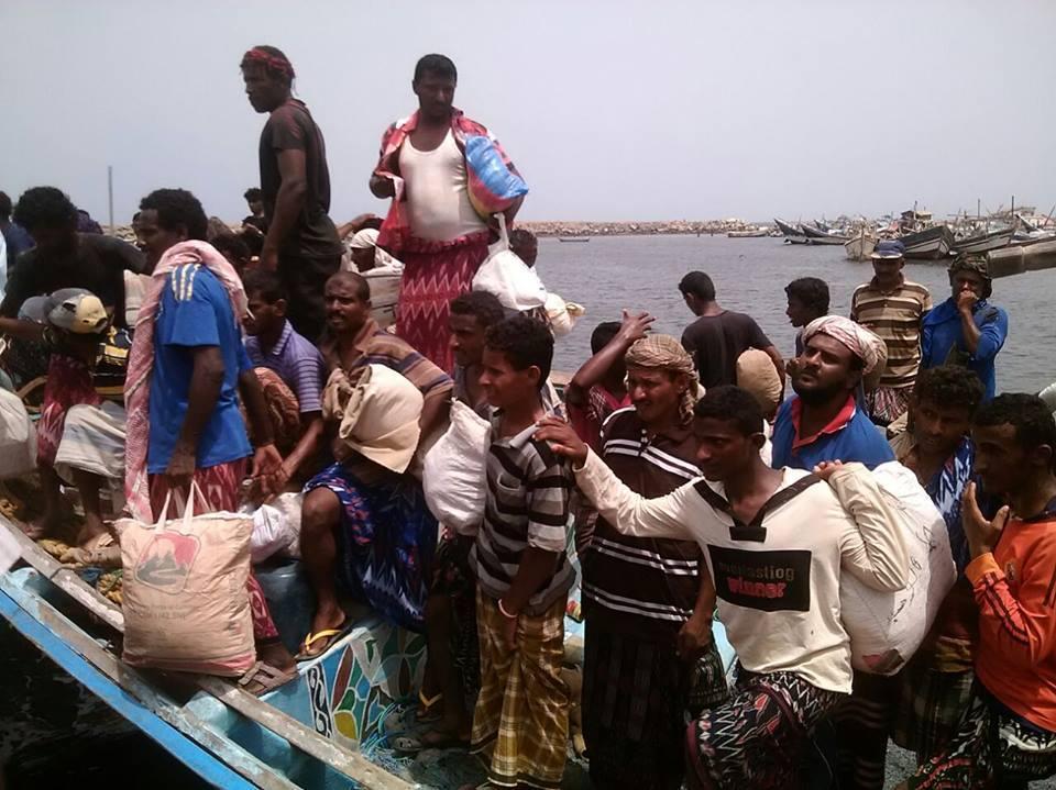 إريتريا تفرج عن 80 صيادًا يمنيًا