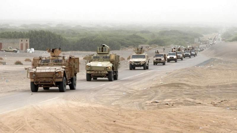 القوات الحكومية تتقدم صوب الحزم بالجوف