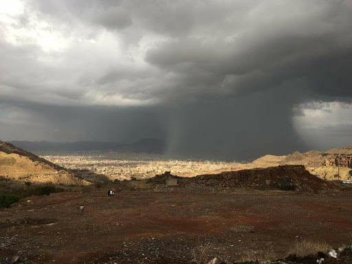 مركز الأرصاد يتوقع هطول الأمطار خلال الساعات القادمة