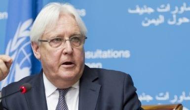 المعبوث الأممي إلى اليمن مارتن غريفيث
