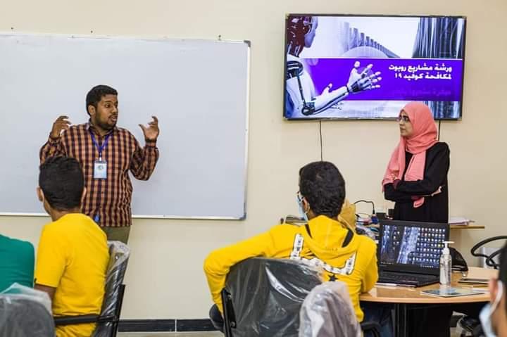 شباب عدن… ابتكار في زمن الحرب