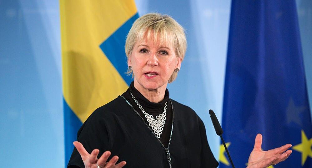 وزيرة خارجية السويد تبحث مع الحوثيين جهود السلام في اليمن