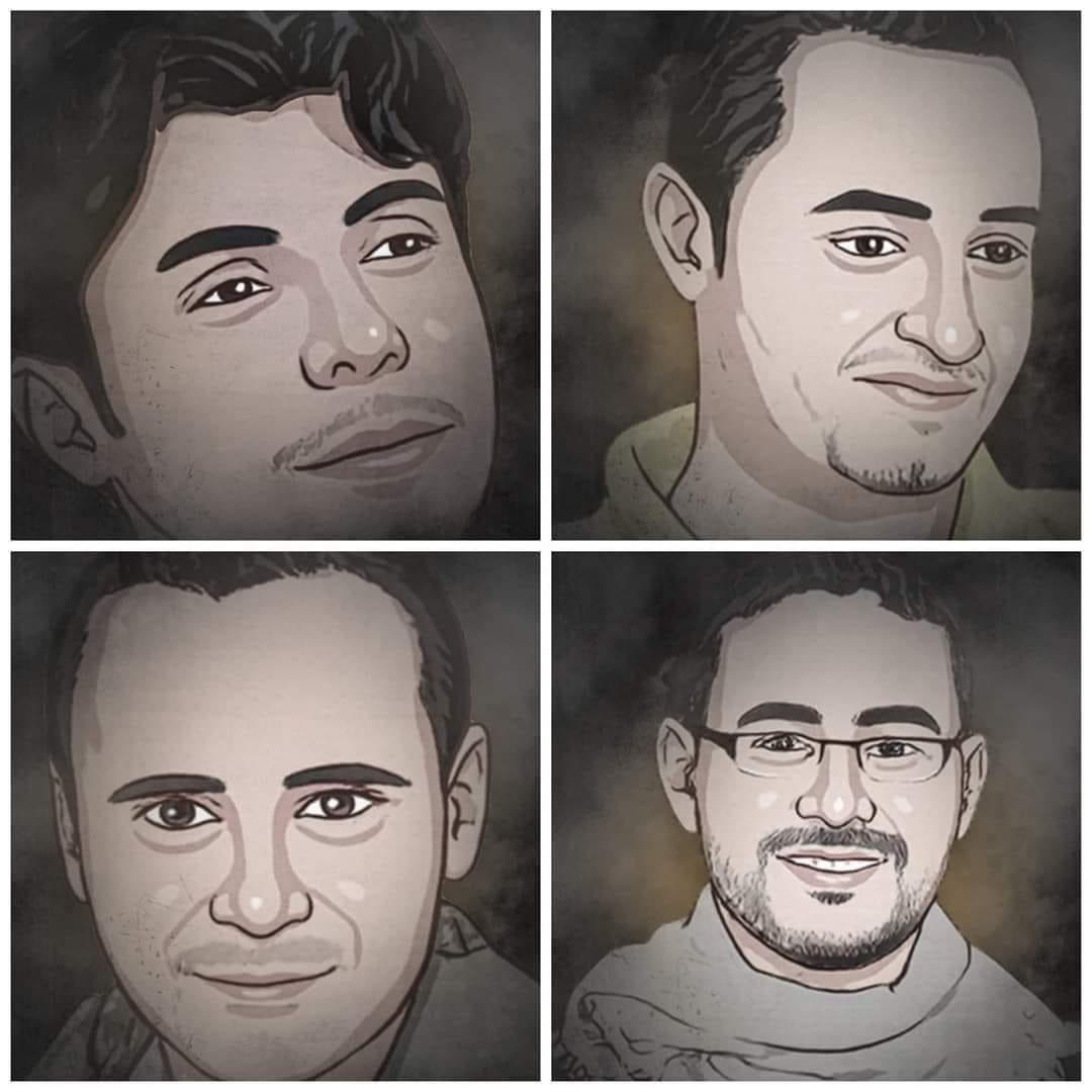 صحفيون يدخلون عامهم السابع في سجون الحوثي