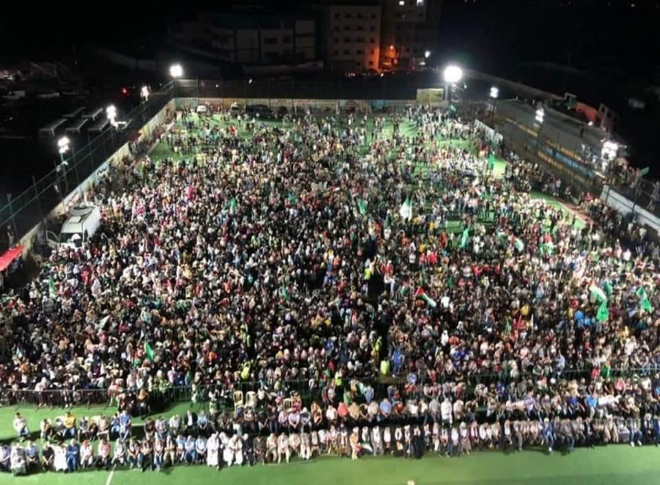 مهرجان جماهيري تأييداً للقضية الفلسطينية في محافظة شبوة