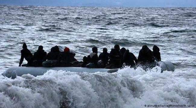 غرق قارب يحمل أفارقة غرب محافظة لحج