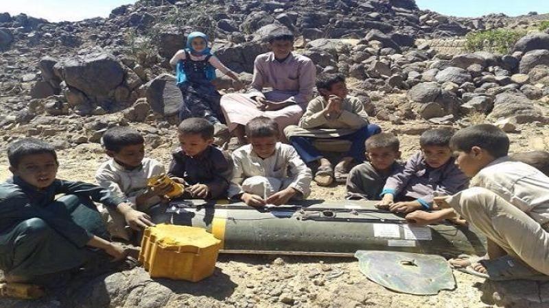 إصابة طفلين في إنفجار قنبلة بحجة