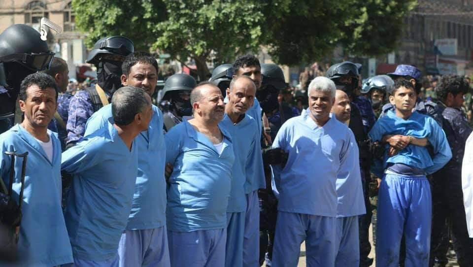 الحكومة تطالب مجلس الأمن بإدانة إعدام الحوثيين لتسعة مدنيين